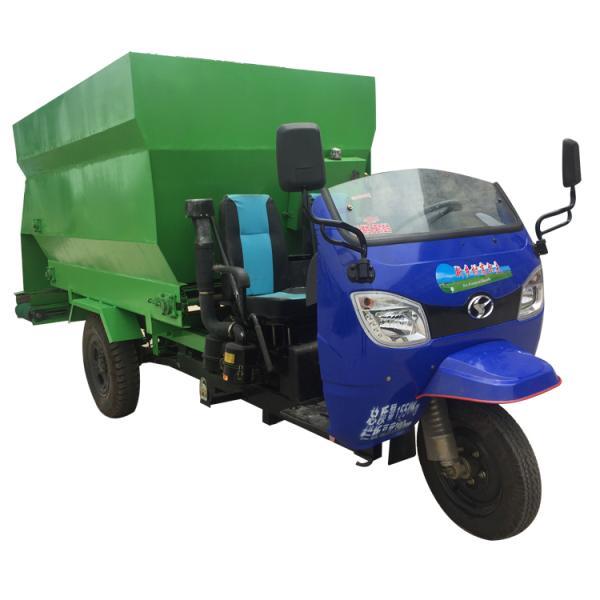 环保低噪音撒料车 牛羊饲料投料车 低耗能撒料车