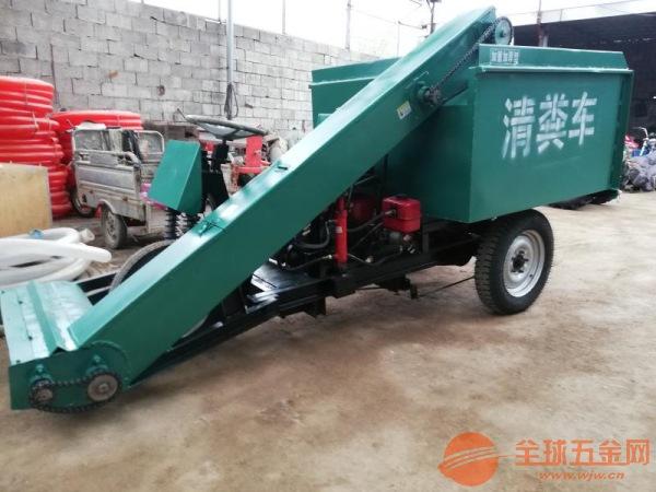 绥宁县简单好操作清粪车农用三轮小巧铲粪车