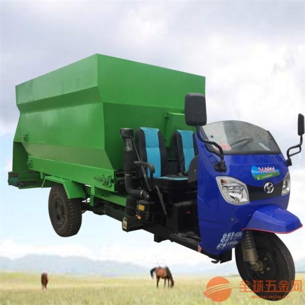 松北区均匀饲喂撒料车牛场环保型投喂车