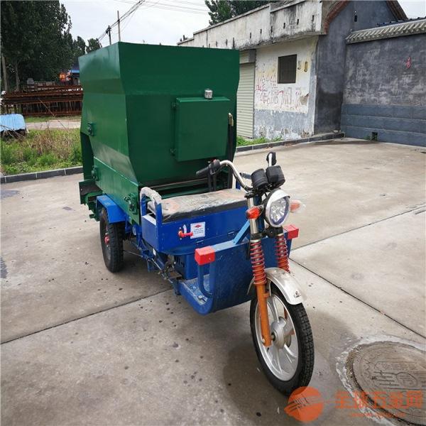 石峰区养殖业专用撒料车青贮饲料喂料车