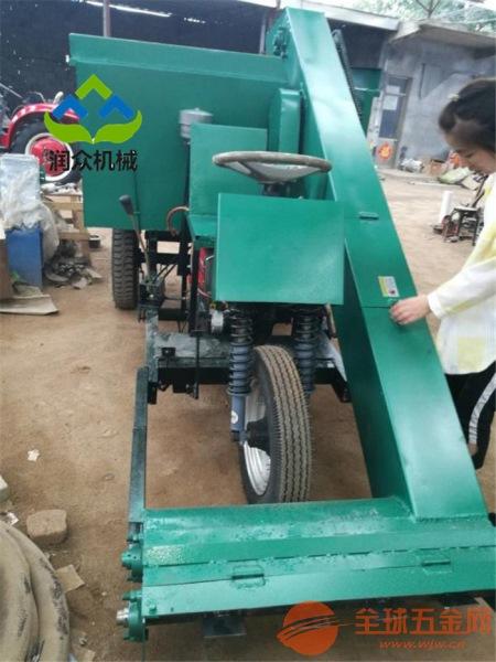 顺德区粪污自动清理车干湿粪便清理铲粪车