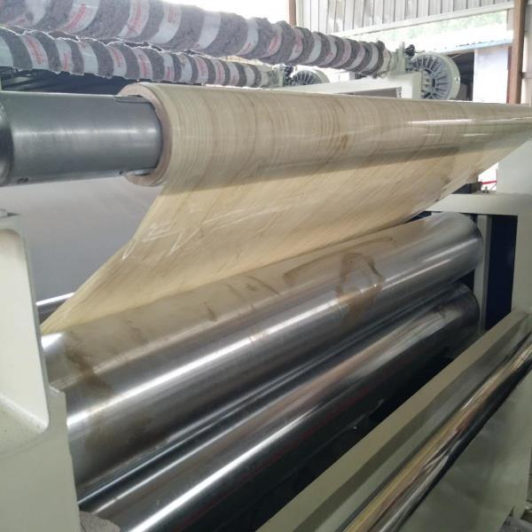 曲靖大板贴纸机板材贴膜设备