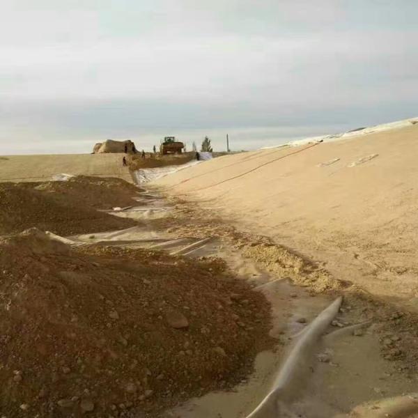合作200g濾水透水養護路面土工布價格長絲土工布誠信公司