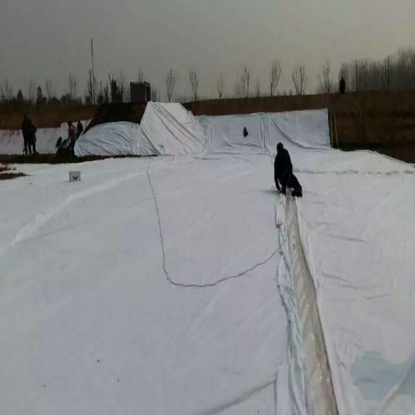 安徽300g綠色白色達標土工布出廠報價護坡土工布質優價廉