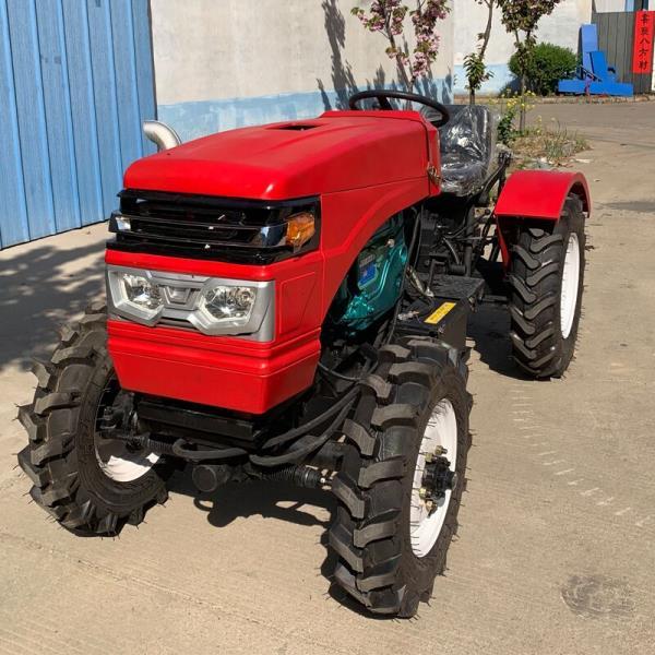 四驱多缸拖拉机可带旋耕机28马力小型四轮拖拉机