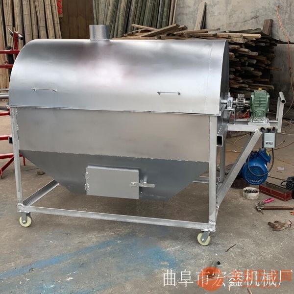 糖炒栗子机 300斤芝麻炒货机 焦作