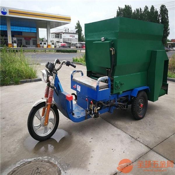 乌鲁木齐三轮敞篷式撒料车能爬坡的柴油喂牛车