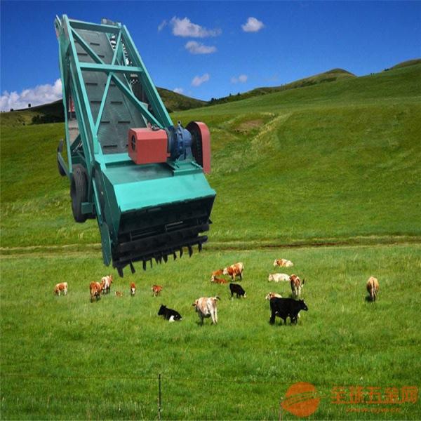 电力驱动青贮取料机 牛羊饲草专用装取机
