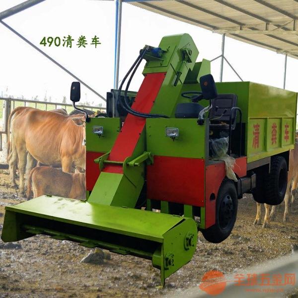 靖宇县刮粪车改善养殖环境清粪车一键启动