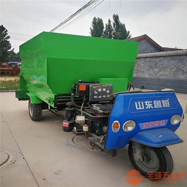 开化县草料运输车省人工多功能TMR撒料车