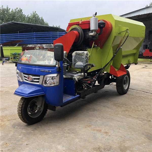 泾县5立方柴油送料车耐用型撒料车