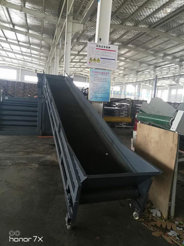河南濮阳60吨废纸液压打包机