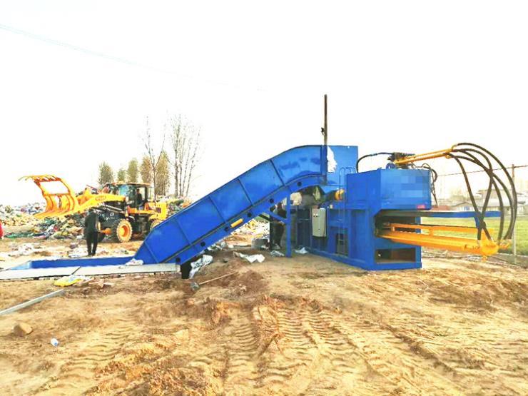 黑龙江120吨液压薄膜打包机