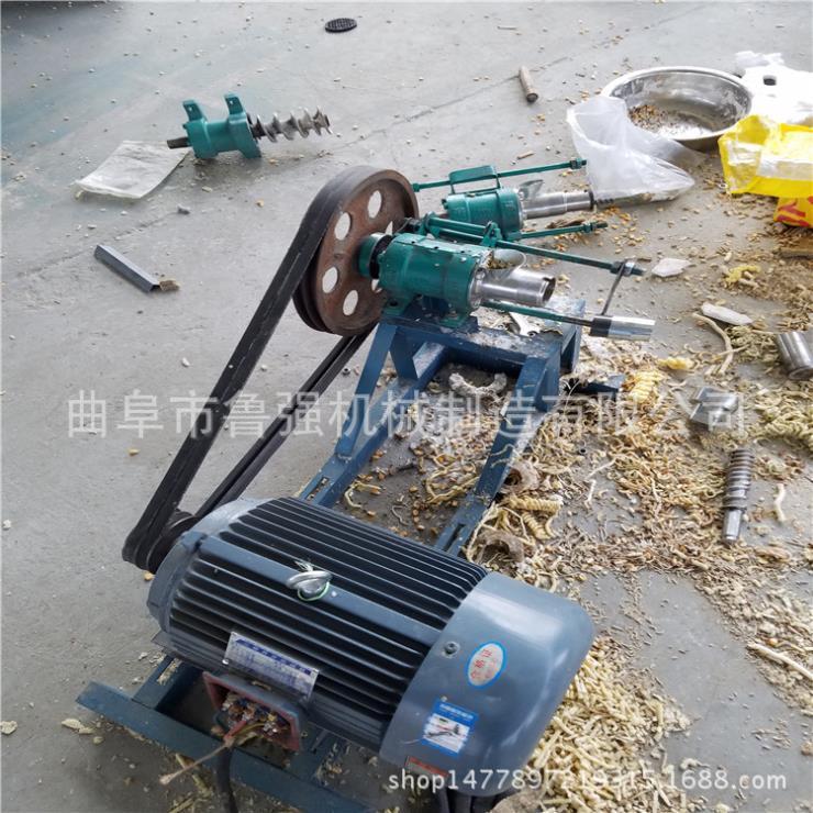 柴油江米棍膨化機集賢花生型狀膨化機小型雜糧膨化機