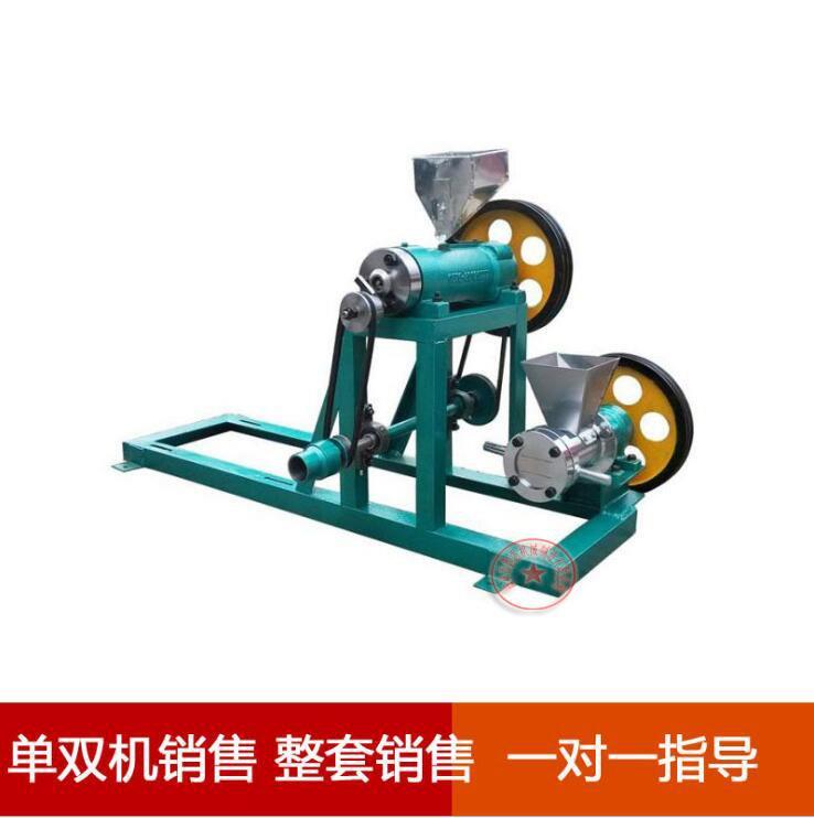 柴油江米棍膨化機加格達奇玉米雜糧膨化機多功能食品膨化機