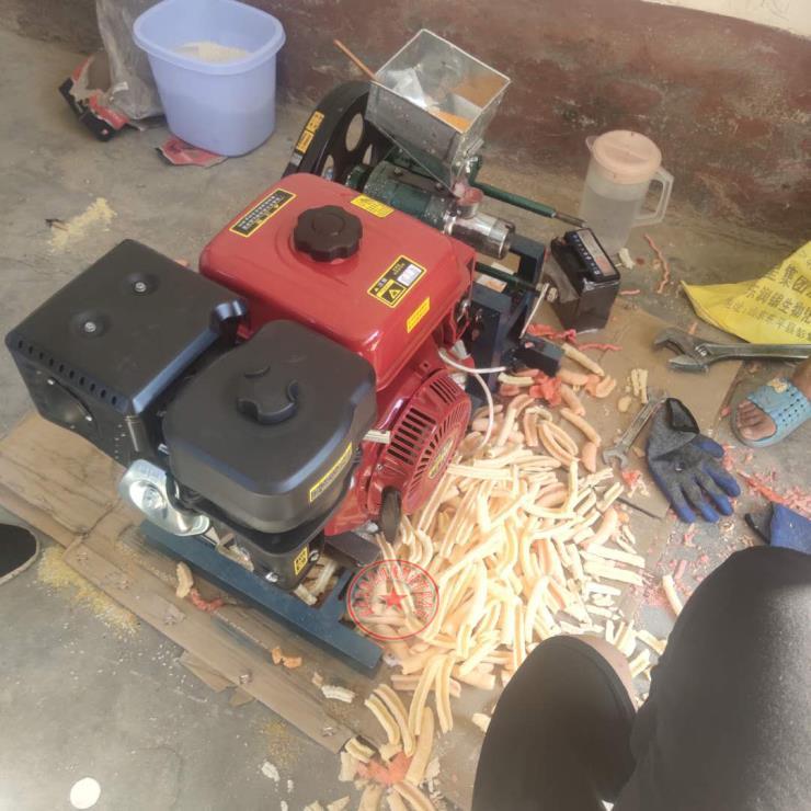 江米棍膨化機價格虞城走街串巷創業項目玉米自動切斷膨化機