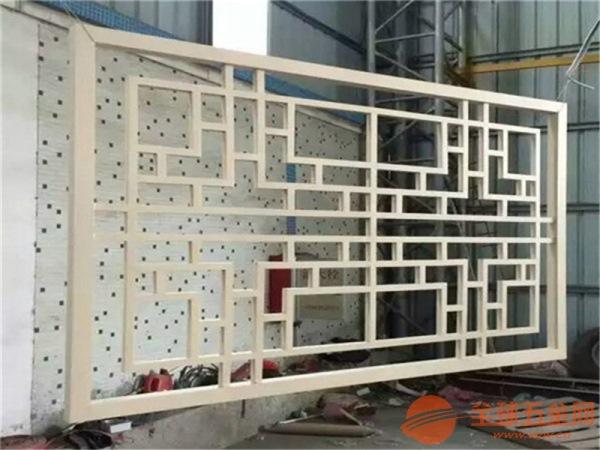 仿古铝格栅窗花上海连锁酒店大堂,木纹铝花格窗/冰裂纹造型铝合金花格,量大从优