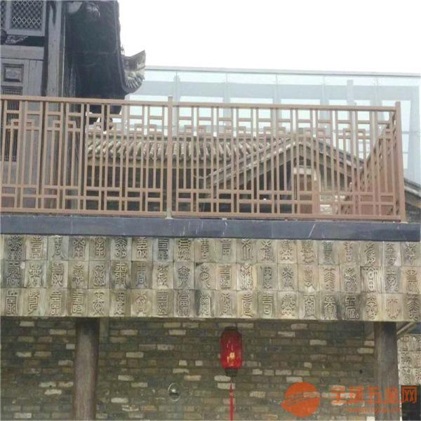 仿古铝格栅窗花上海连锁酒店大堂,木纹铝花格窗/冰裂纹造型铝合金花格,质优价低
