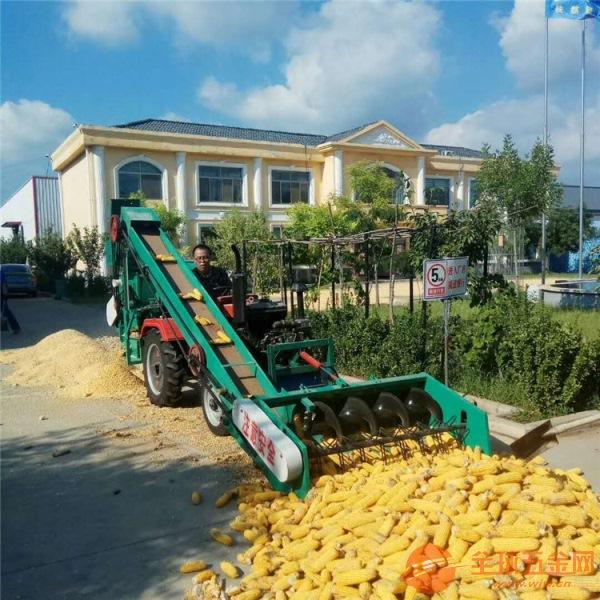 南阳车载式新款全自动玉米脱粒机