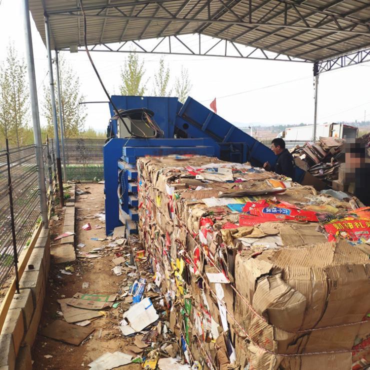 遼寧120噸可樂瓶打包機