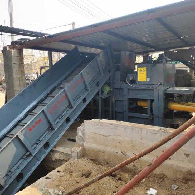 江西200噸鋁合金打包機