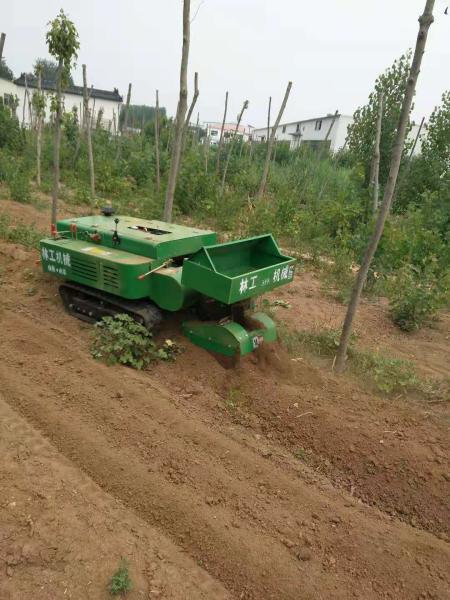西陵區山地果園用的履帶開溝施肥機