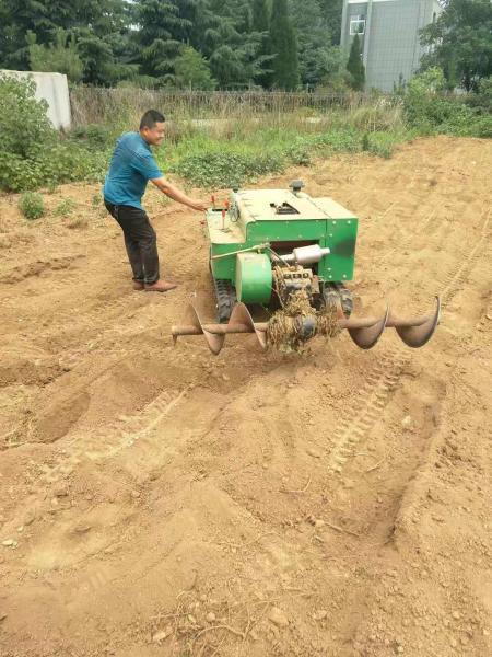 陽新縣供應新型履帶施肥機械設備