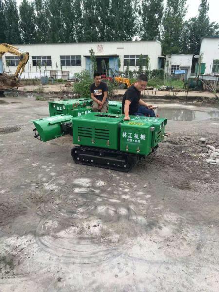 广汉履带开沟机多少钱有什么型号果园旋耕机图片