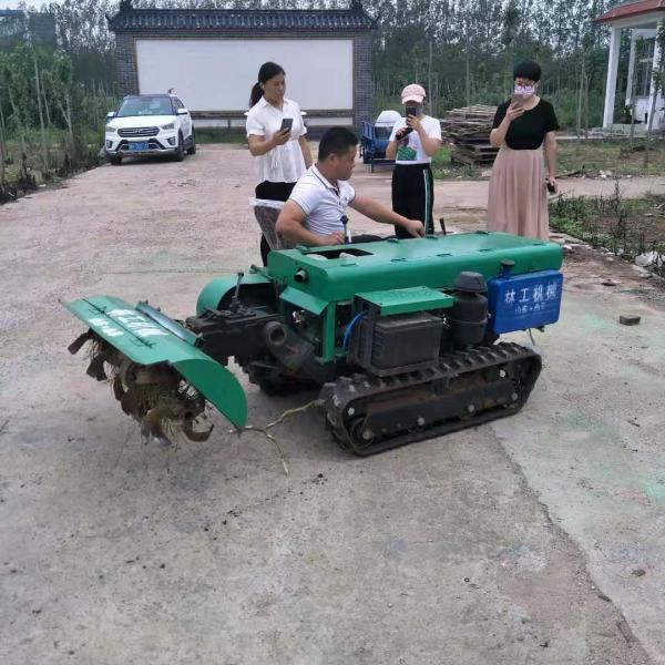 鐵山區新型施肥機履帶開溝旋耕機