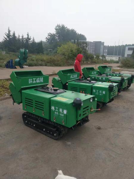 双辽林工机械厂16马力乘坐式履带开沟机