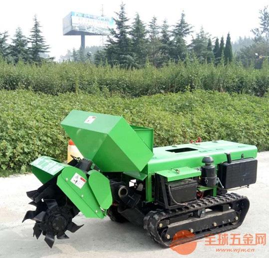 大新县遥控履带式开沟旋耕施肥回填除草机报价