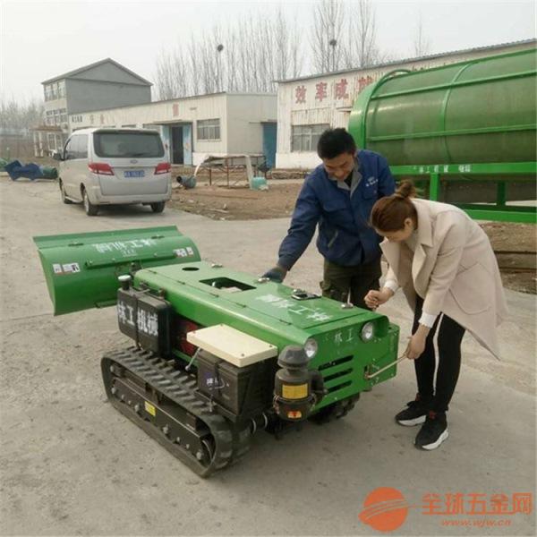 济源遥控履带式施肥机安装