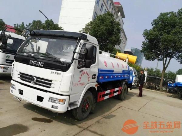 5吨雾炮洒水车厂家 环保洒水车型 品质过硬