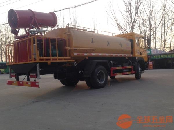 8吨雾炮洒水车多少钱 程力洒水车 抑尘效率快