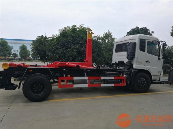 6吨车厢可卸式垃圾车制造商_品质过硬
