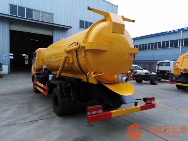 10吨吸污车厂家 污水处理吸污车 罐体加厚压力罐