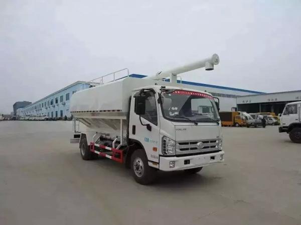 12吨饲料运输车多少钱_环保饲料运输车_验收付款