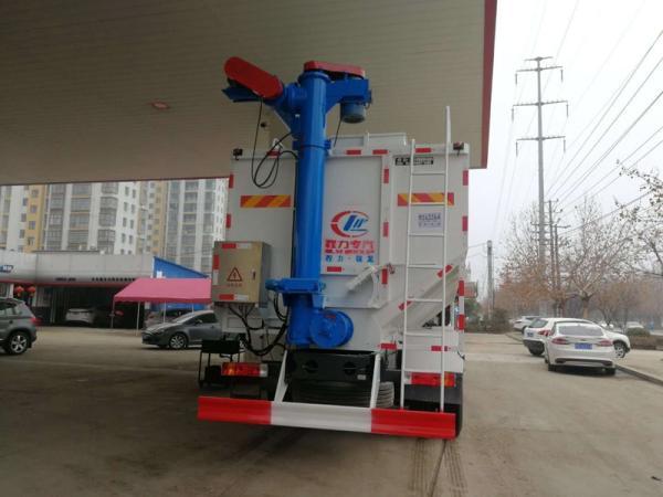 6吨猪场饲料运输车多少钱_鸡场专用饲料车_送车上门