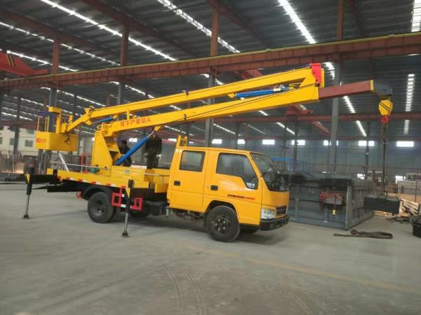 程力威牌电力抢修高空举升车厂家 树枝修理
