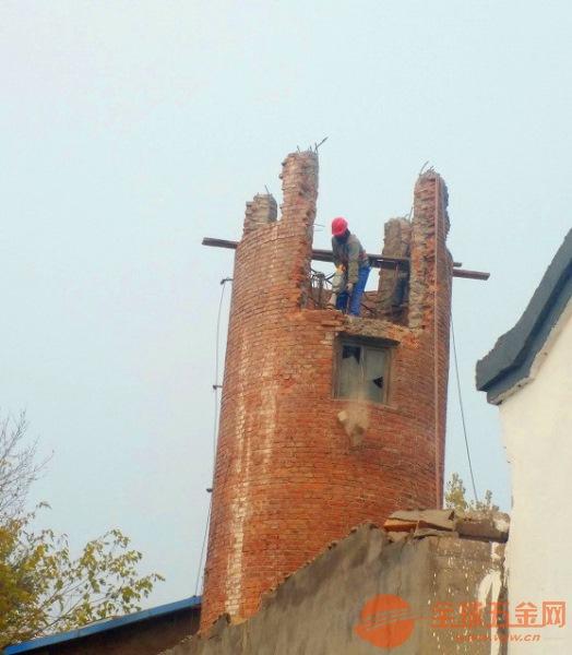 德州砖烟囱拆除公司怎么收费