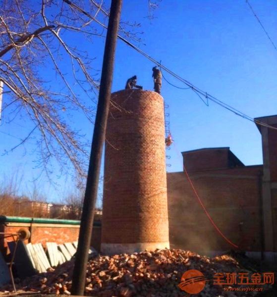 新闻:镇江人工拆除烟筒的措施有哪些
