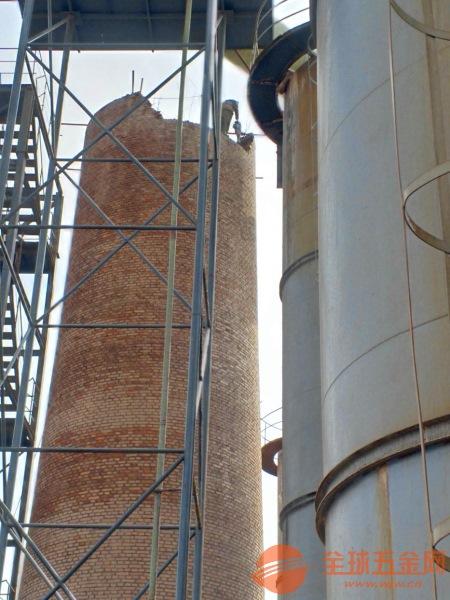 资阳砖烟囱拆除公司如何施工