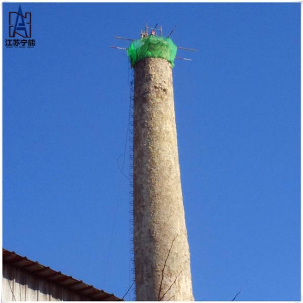 45米砖烟囱拆除公司,水塔定向拆除