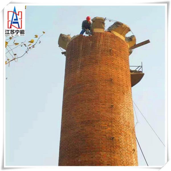 烟囱人工拆除,砖窑厂烟囱拆除施工快,拆除锅炉房烟囱公司