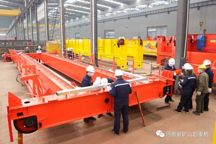 河南矿山LB型2吨26米矿用防爆单梁起重机专业生产