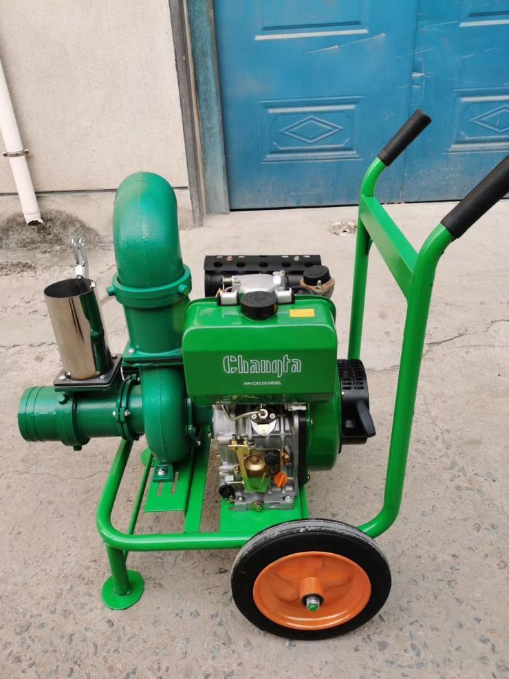 灌溉泵山丹汽油机排灌水泵