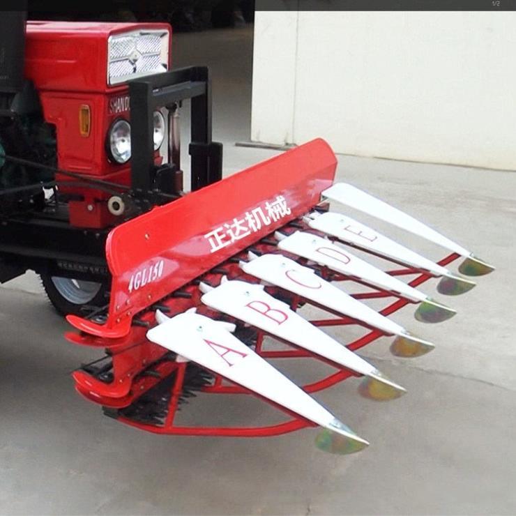 周口水稻麦子割晒机园林收割机
