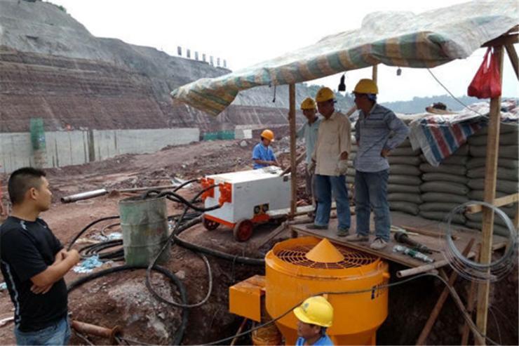 上海BW70/8砂浆泵锚杆注浆