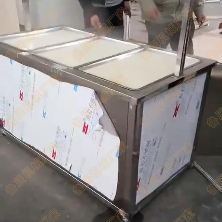 自动磨浆油皮腐竹机仿手工豆皮机哪里有卖的
