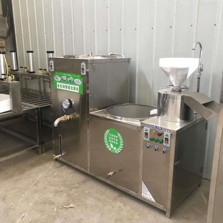 大型全自动豆腐机生产线设备